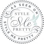 Seen in Style Me Pretty