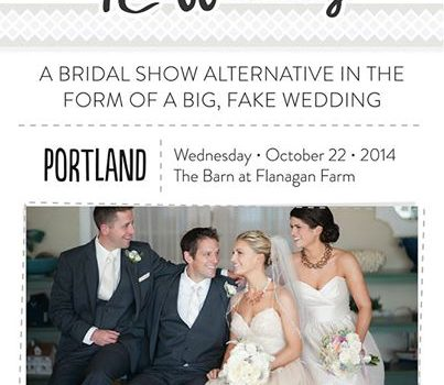 Portland's First TheNot Wedding