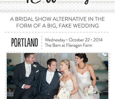 Portland's First TheNot Wedding