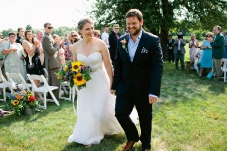 Summer Barn Wedding in Cumberland