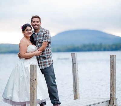 Lakeside Wedding on Toddy Pond