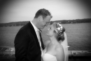 Maine island wedding