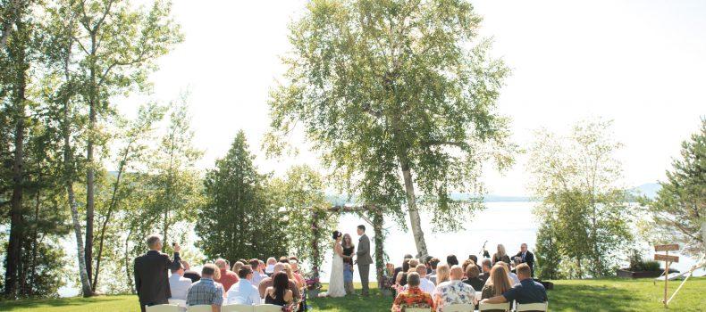 Rangeley Wedding at Loon Lodge