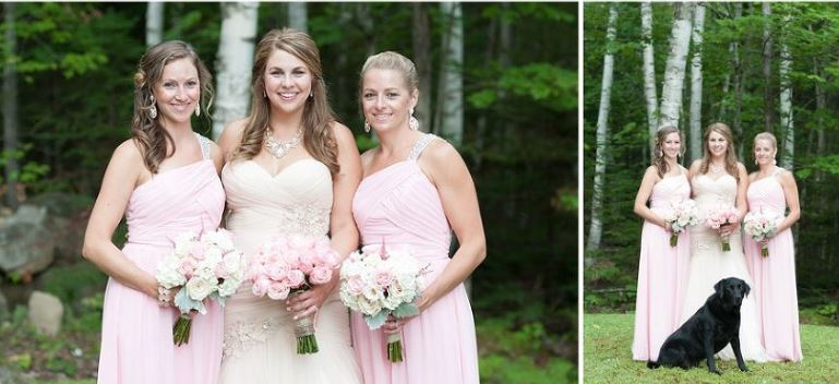 Lakeside Maine Wedding