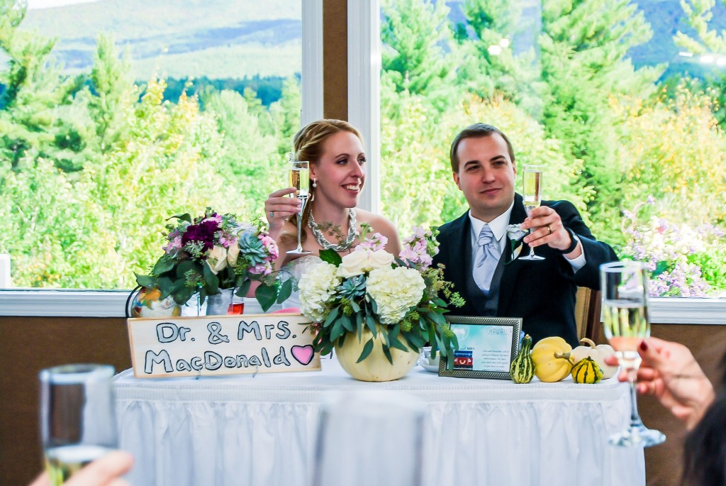 White Mountain Hotel Wedding