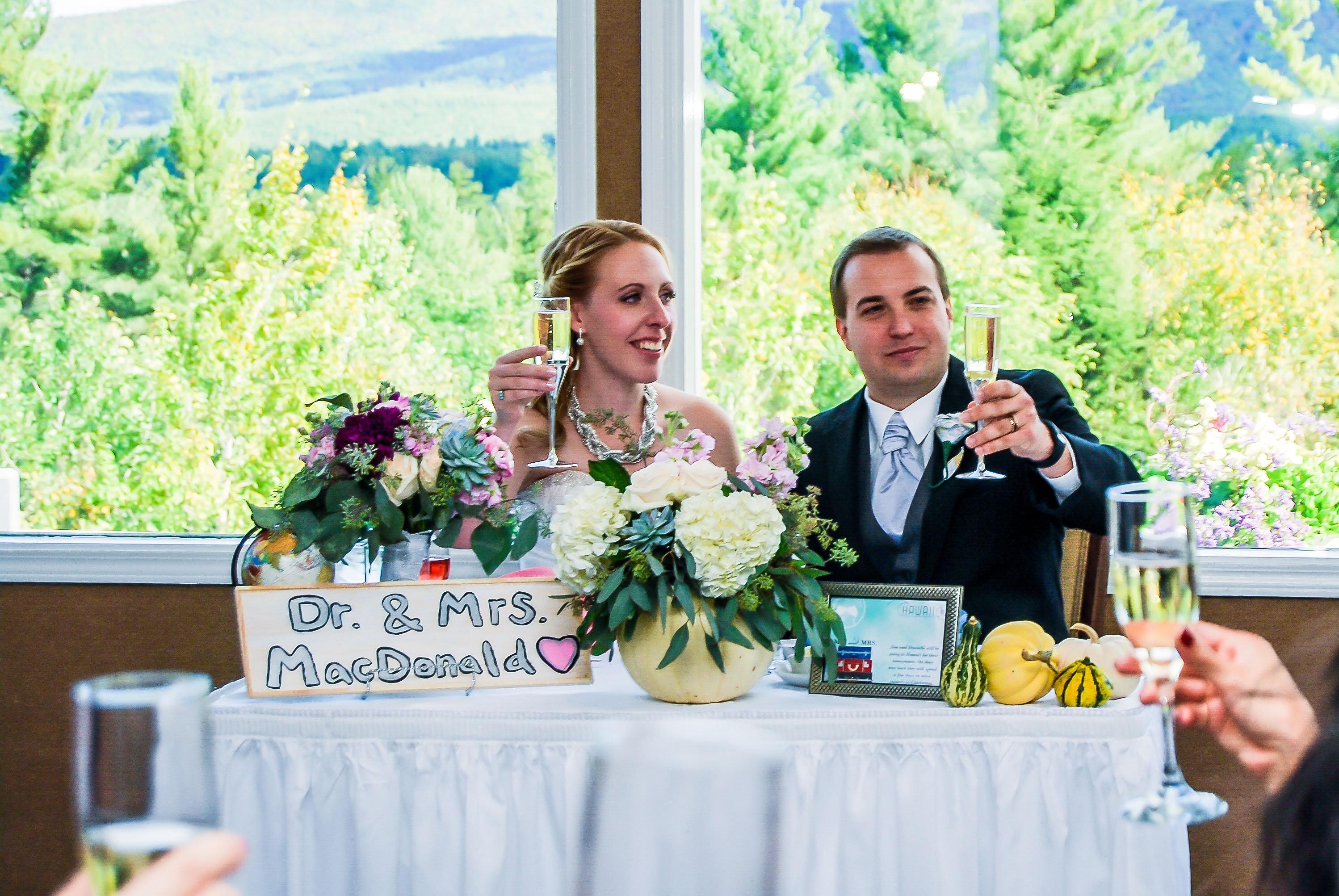 White Mountain Hotel Wedding