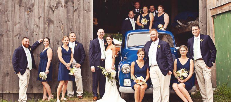 Broadturn Farm Wedding