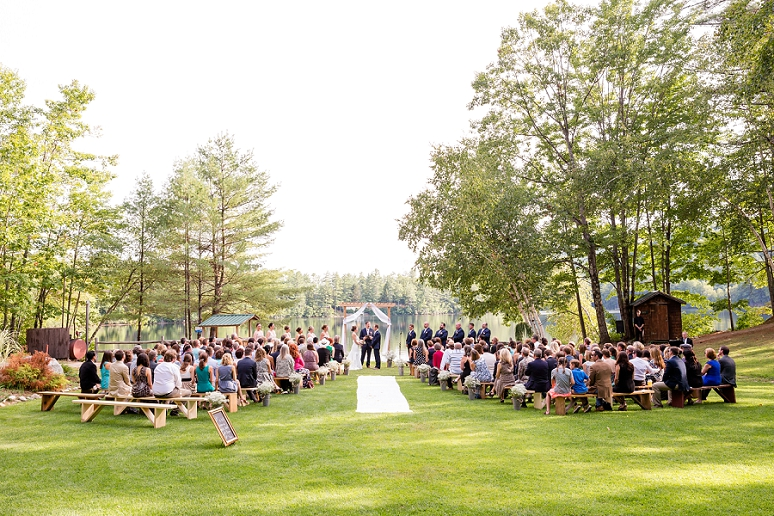 Maine Teen Camp Wedding