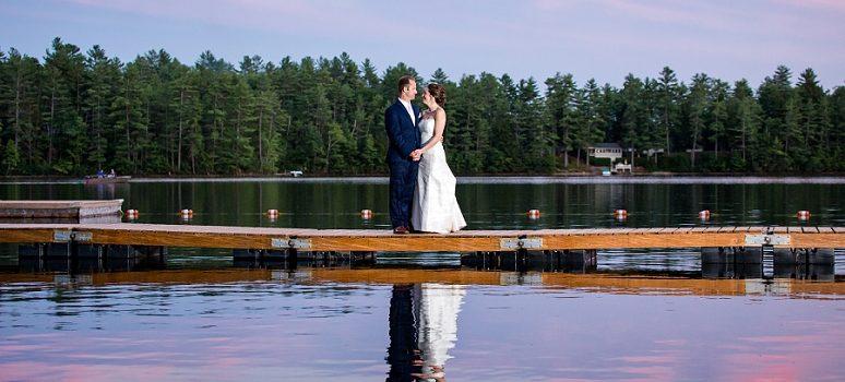 Maine Summer Camp Wedding