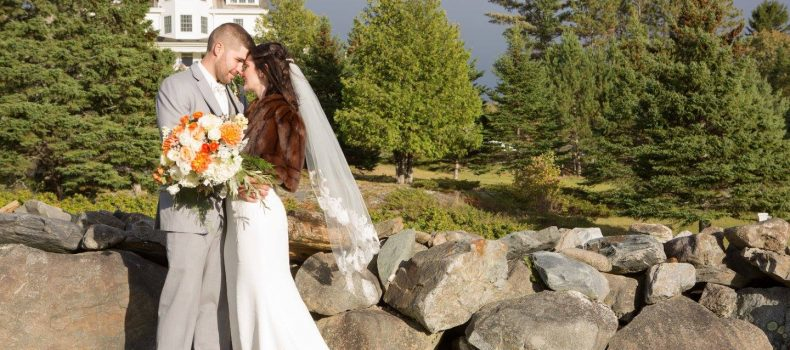 Autumn Moosehead Lake Wedding