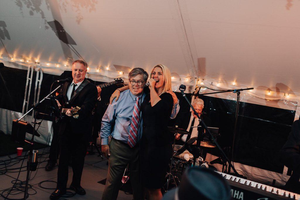 New Hampshire Wedding At The Fells Wavelength Band