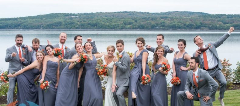 Fall French's Point Wedding