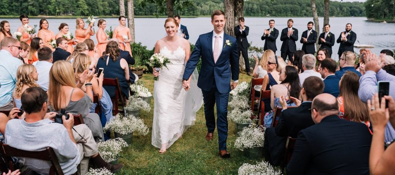 Summer Wedding at Seven Tree Pond