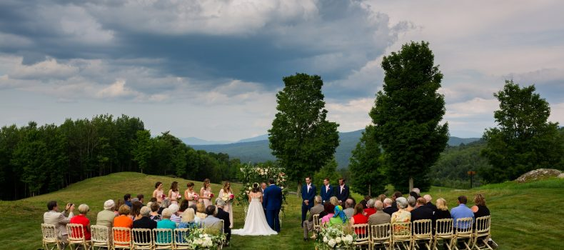 New Hampshire Wedding With A View