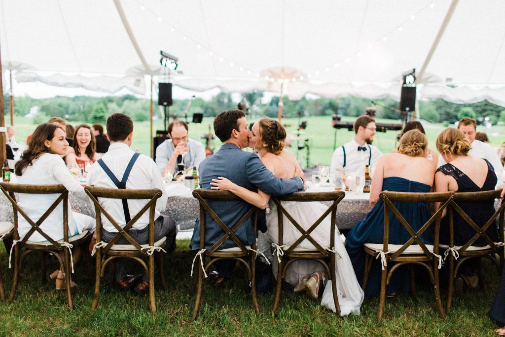 Backyard Maine Wedding