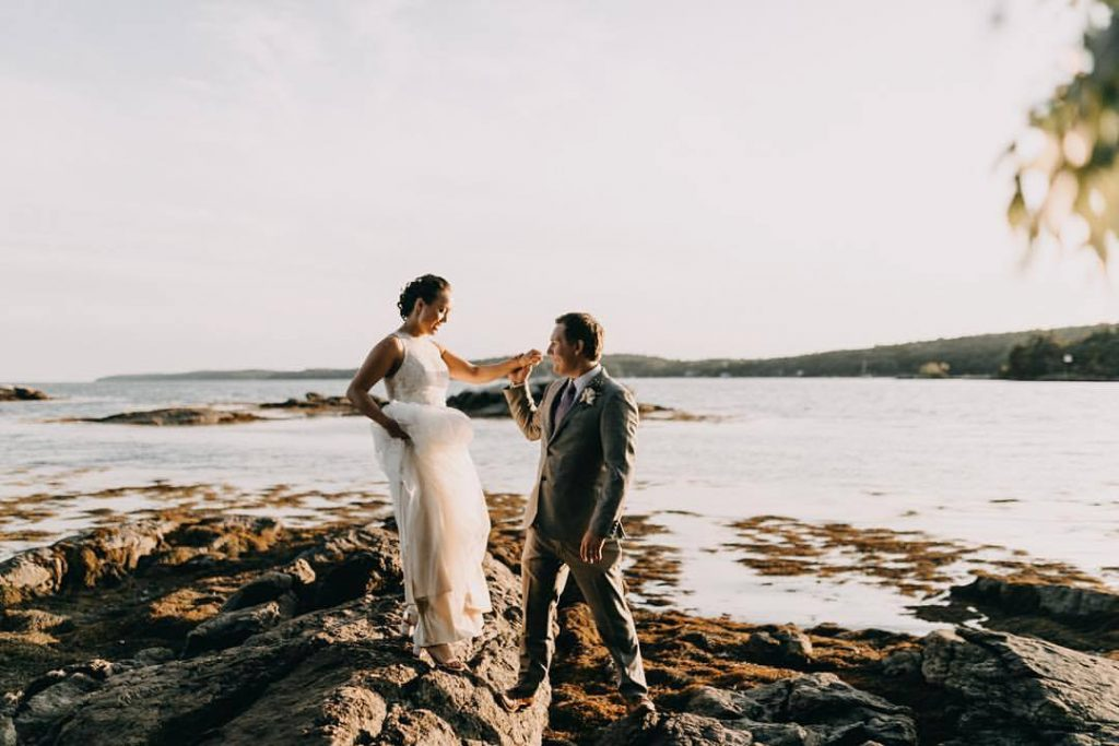 Maine Private Residence Wedding
