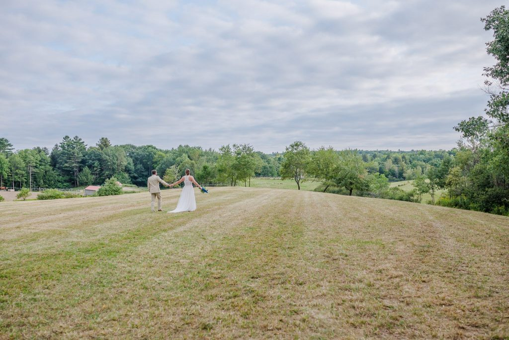 North Yarmouth Maine Wedding