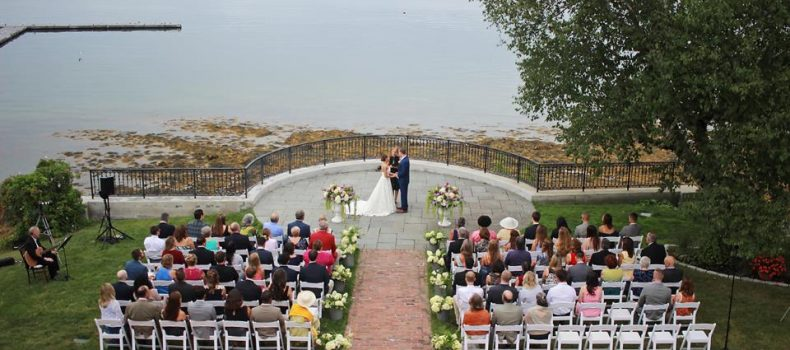 Bar Harbor Stone House Wedding