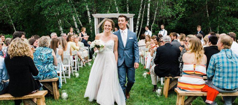 Backyard Wedding in Cumberland