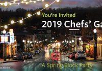 2019 Chefs' Gala
