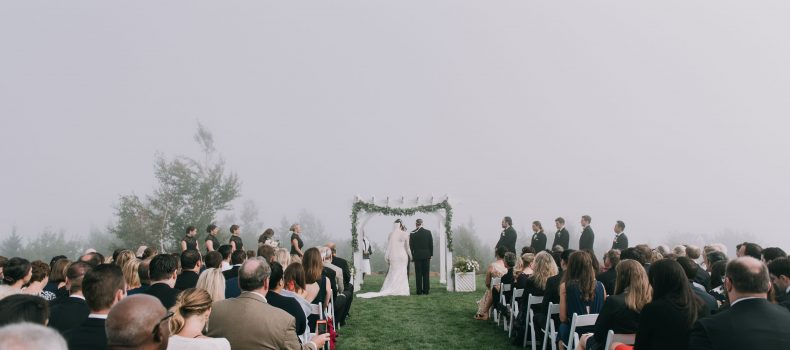 A Foggy Point Lookout Wedding