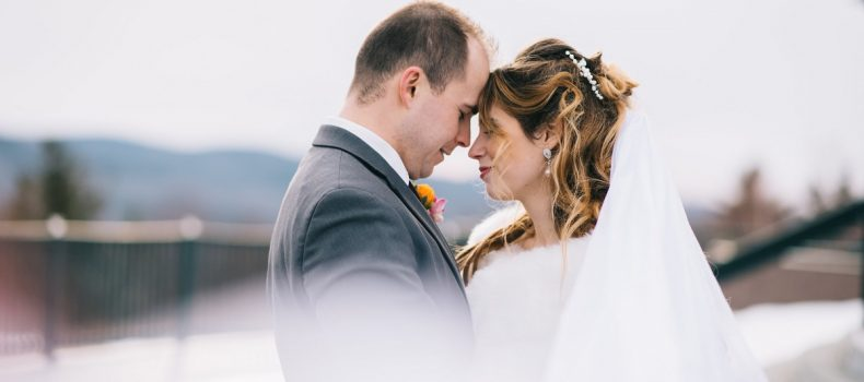 Maine Winter Wedding at Point Lookout
