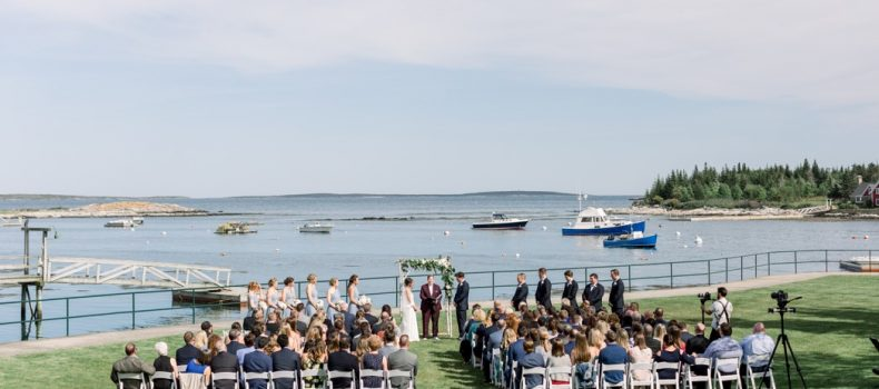 Newagen Seaside Inn Maine Wedding