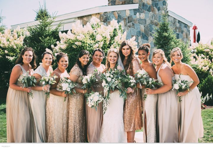 Golden Wedding Party