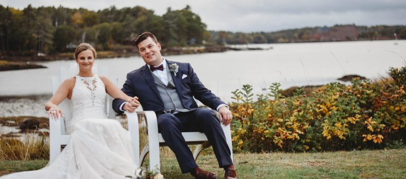 Autumn Wedding in Edgecomb