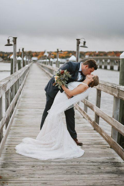 Autumn Wedding in Maine