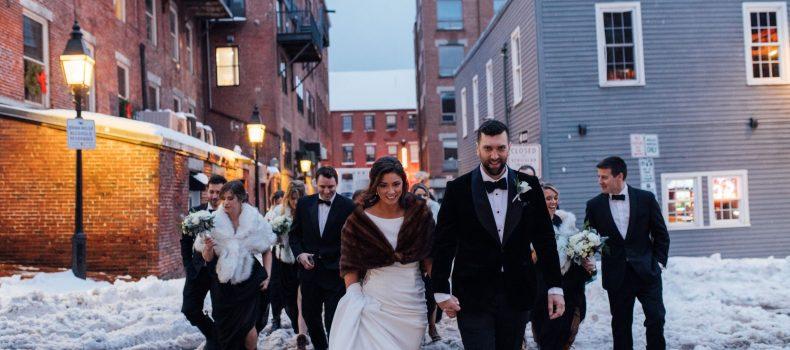 Portland New Year's Eve Wedding